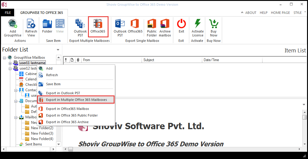 Windows 7 GroupWise to Office 365 18.11 full